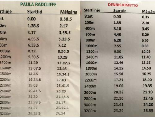 Skojiga passet – spring i rekordfart